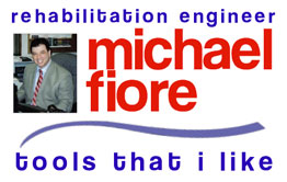 Michael Fiore Rehabilitation Engineer Logo